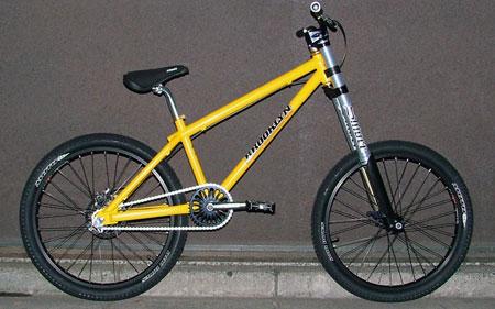 bmw - park yellow