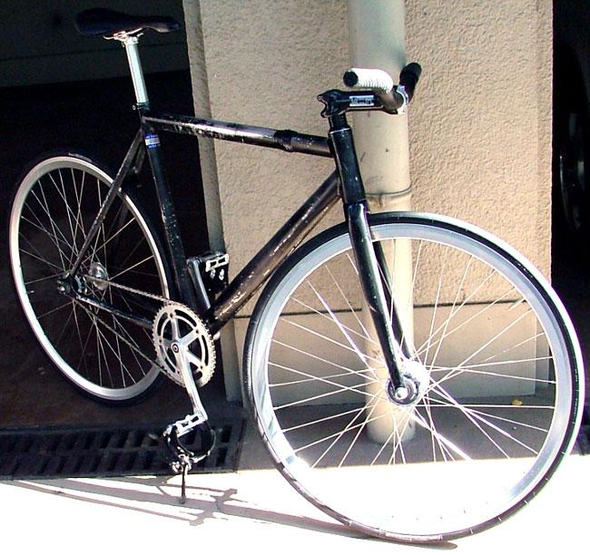 gabe trackbike detail