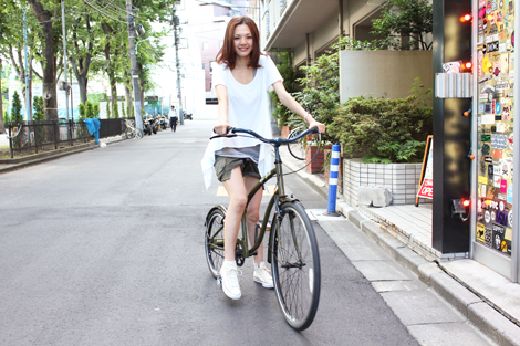 girls bike yuki