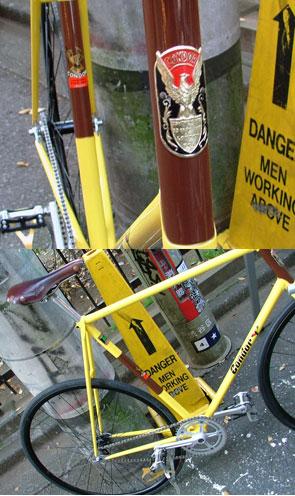 jobante trackbike detail
