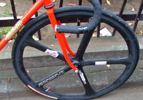 nate trackbike detail