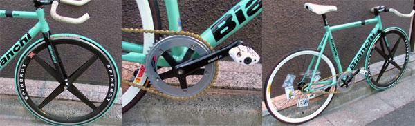 oliver pist bike detail