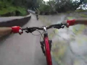 Bobsled track on MTB!