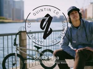 Shota Higa for Quintin Japan